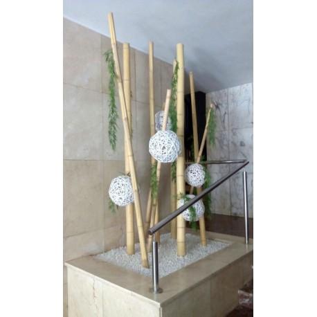 Decoracion Con Bambu 7deflors - Decoracion-bambu
