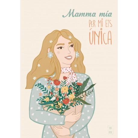 """TARJETA """"MAMMA MIA"""""""