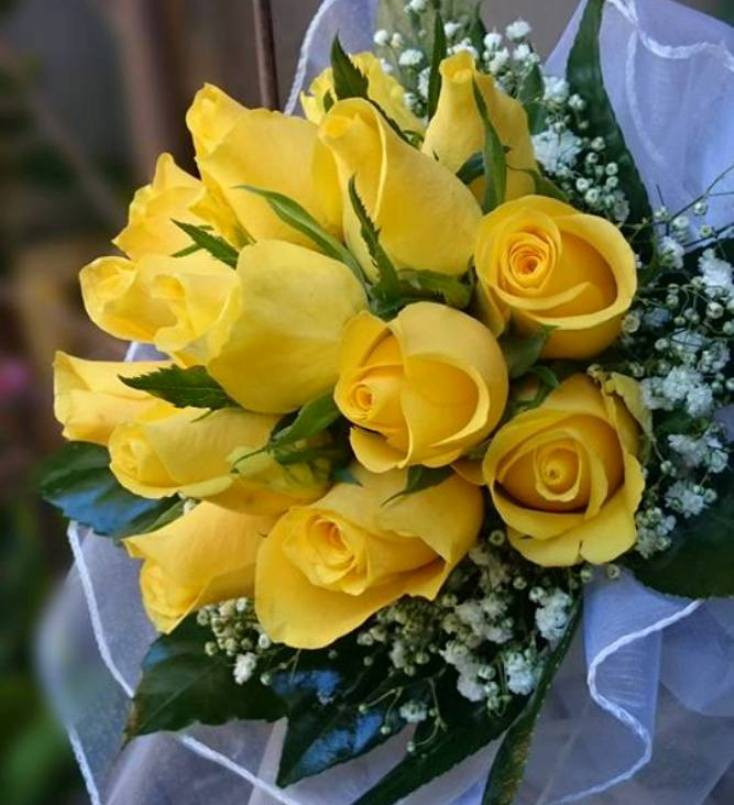 Bouquet Rosas Amarillas 7deflors